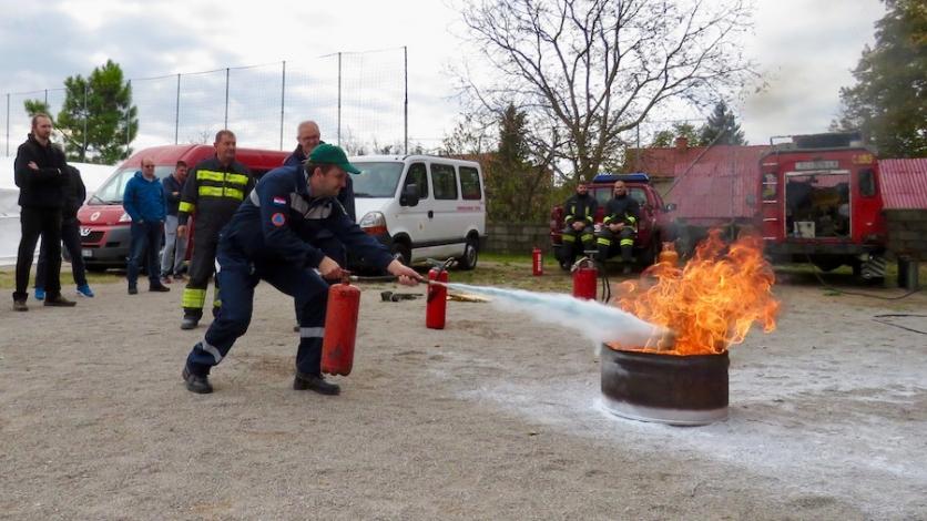 Gašenje požara, prva pomoć, spašavanje iz ruševina…
