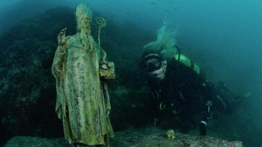 Hodočašće kraljevičkom zaštitniku u morskim dubinama