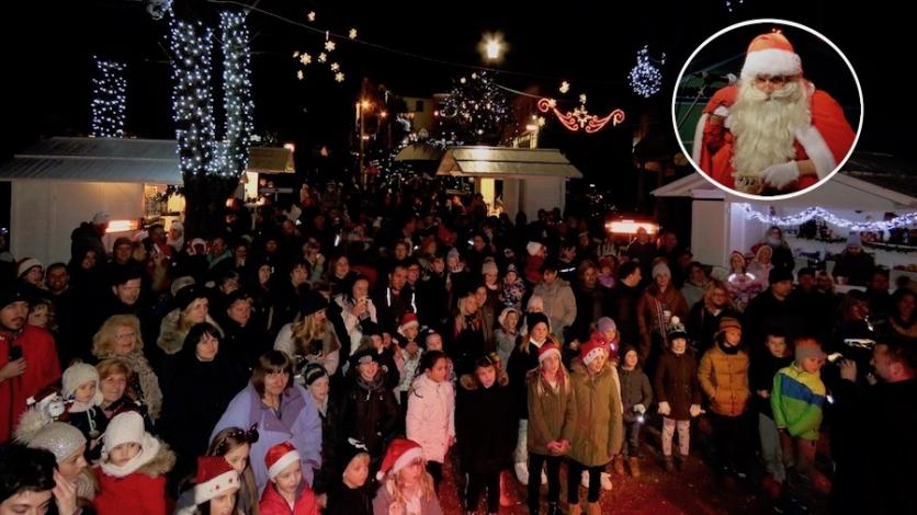 Najmlađi na Fortici otvorili Advent s najljepšim pogledom