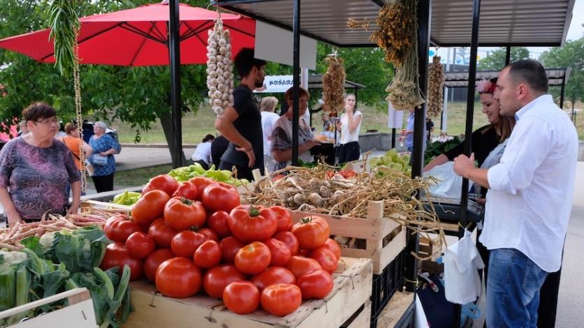 Zdrava tržnica otvorena na Čavlima