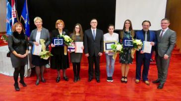 Laureati Zoranka Spicijalić i Ina Randić Đorđević