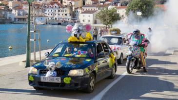 Najveselija kolona vozila na svijetu stigla na cilj u Bakar