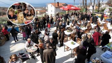 Bogat program Uskrsa u Kostreni razveselio mještane