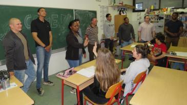Američki vojnici posjetili kostrenske osnovnoškolce