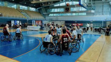 Kostrena ugostila Kup Hrvatske u košarci u kolicima