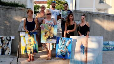 Umjetnici ukrasili Trg sv. Barbare i uvalu Žurkovo