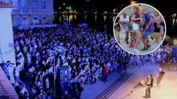 Rock spektakl na Žalu ribara za kraj Bakarskih susreta