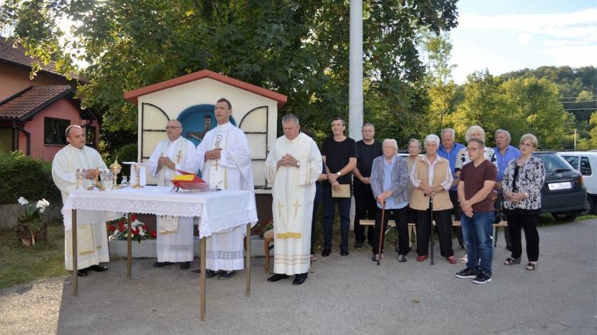Godišnja misa u Brnelićima u čast Blažene Djevice Marije