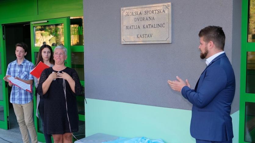 Kastavska dvorana od danas nosi ime Matije Katalinića