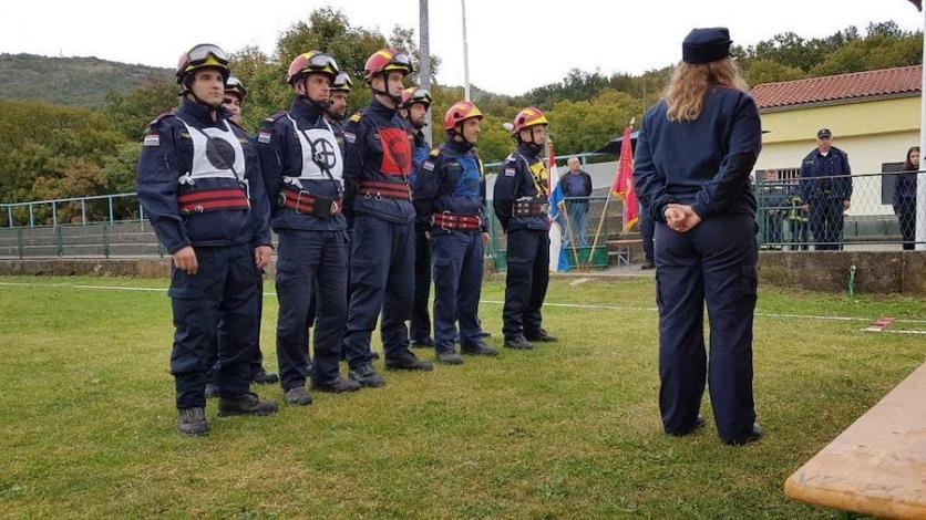 Na Krasici održano županijsko vatrogasno natjecanje