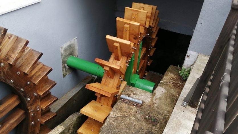 Drugo kolo mlina obnovljeno u čast Brune Kukuljana
