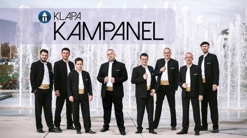 Popularna Klapa Kampanel nastupa u Bakru