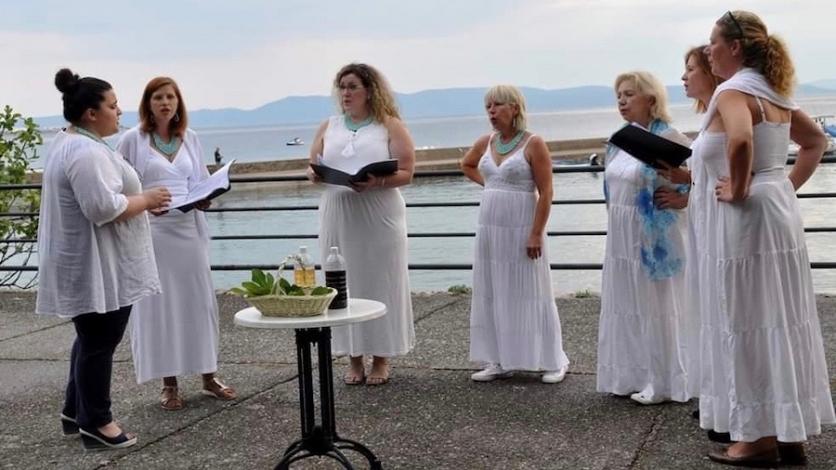 Ženska klapa Porto Re ponovno nastupa na Oštru