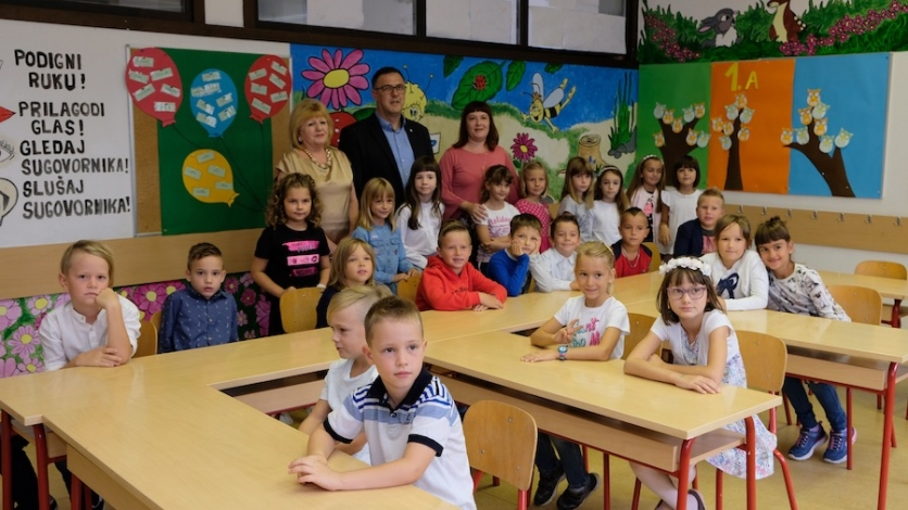 """Školsko zvono """"dozvalo"""" 44 nova kostrenska prvašića"""