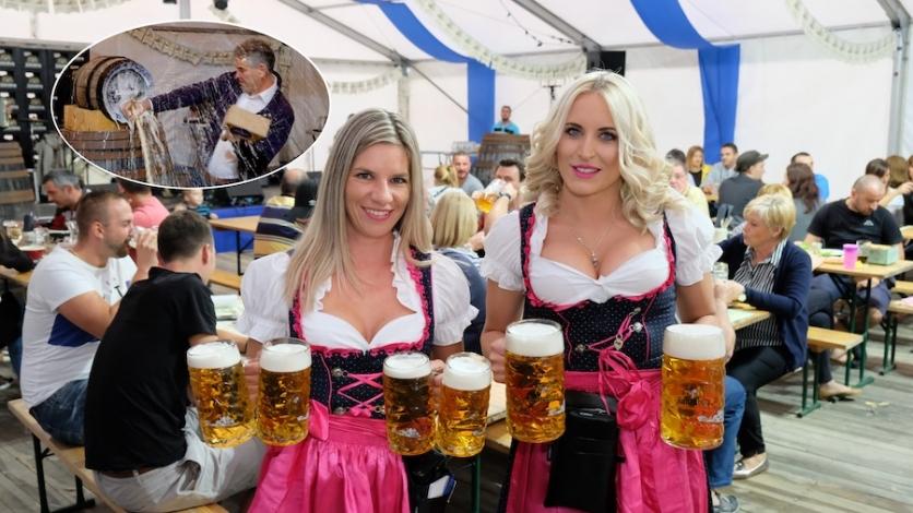 Pukla pivska bačva, počeo Oktoberfest na Kukuljanovu