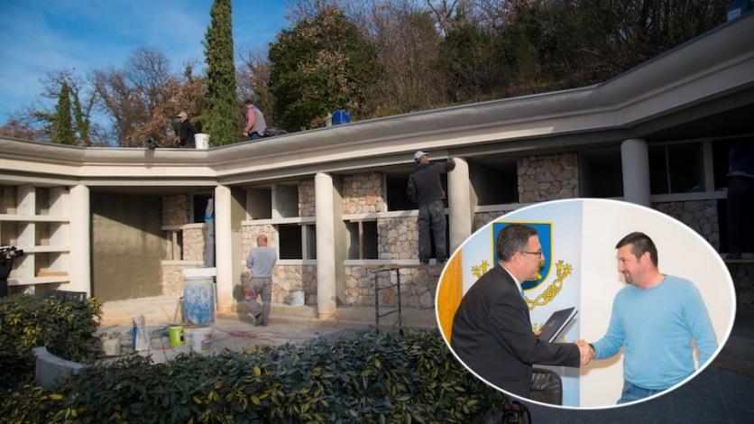 Kreću radovi na proširenju groblja u Kostreni Svetoj Luciji