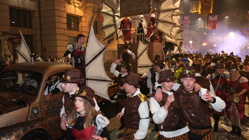 Grobničke maškare u velikom finalu Riječkog karnevala