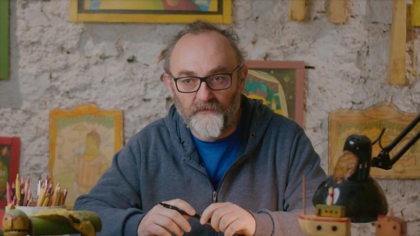 Umjetnik Saša Jantolek je Kastavac veljače 2020.