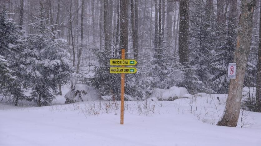 Platak napokon dočekao snijeg i poslao jasnu poruku