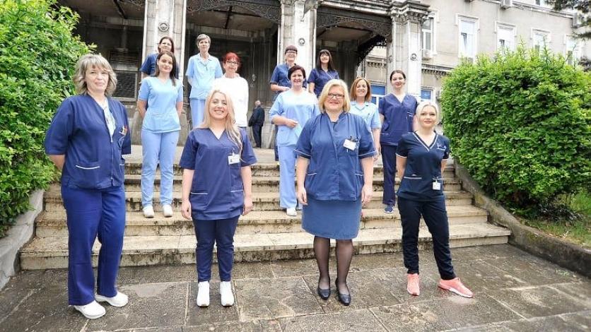 """Riječki """"korona odjel"""" čestita svim medicinskim sestrama"""