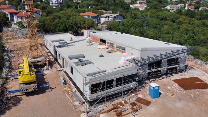 Vatrogasni dom Škrljevo bit će završen početkom jeseni