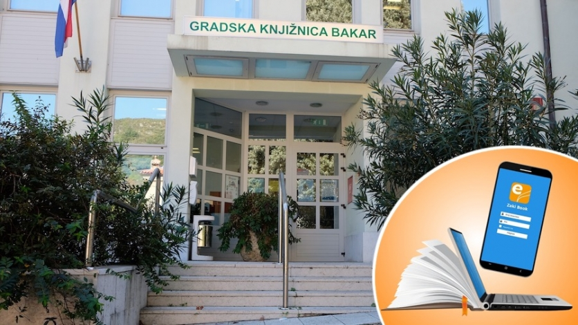E- knjige dostupne korisnicima Gradske knjižnice Bakar