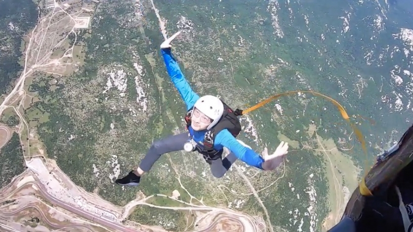 Adrenalinski doživljaj za koji mnogi ne skupe hrabrosti