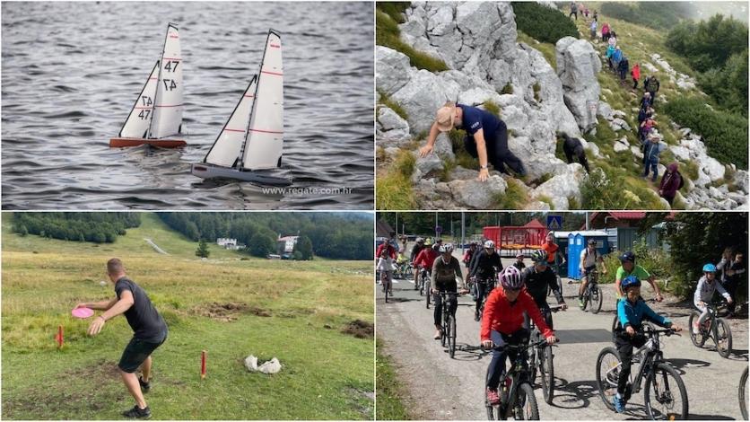 Finale Festivala sportske rekreacije i Jako mala Fiumanka