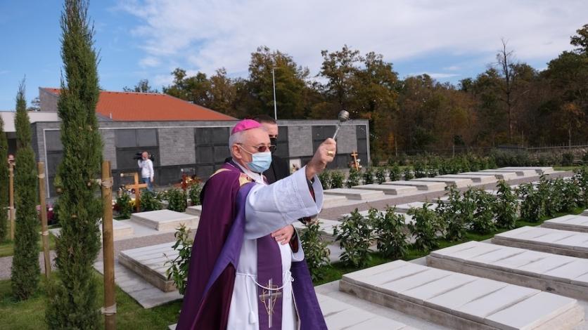 Uoči Svih svetih otvoreno novo kastavsko groblje Žegoti