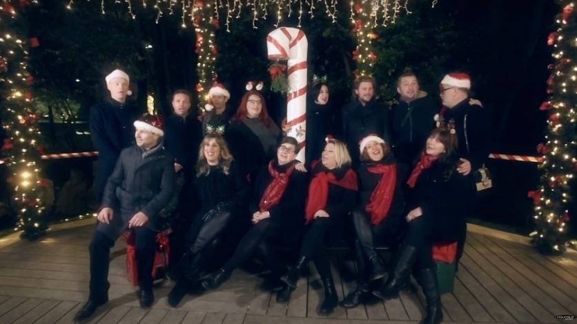 """Kastavske klape u spotu za božićnu pjesmu """"Tisuću snova"""""""