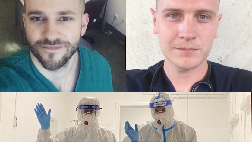 Nekad čavjanski stipendisti sad liječnici u borbi s koronom