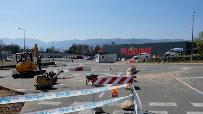Novi kastavski kružni tok u Jurčićima do kraja svibnja