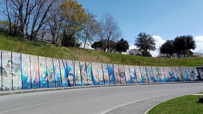 """Kostrenski mural """"Put mora"""" sezonu će dočekati osvježen"""