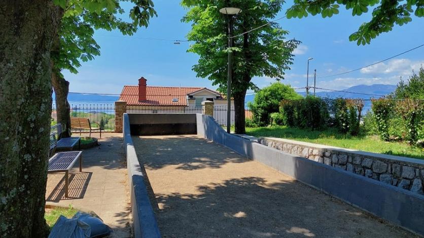 Obnovljeno boćalište kraj Narodne čitaonice u Sv. Luciji