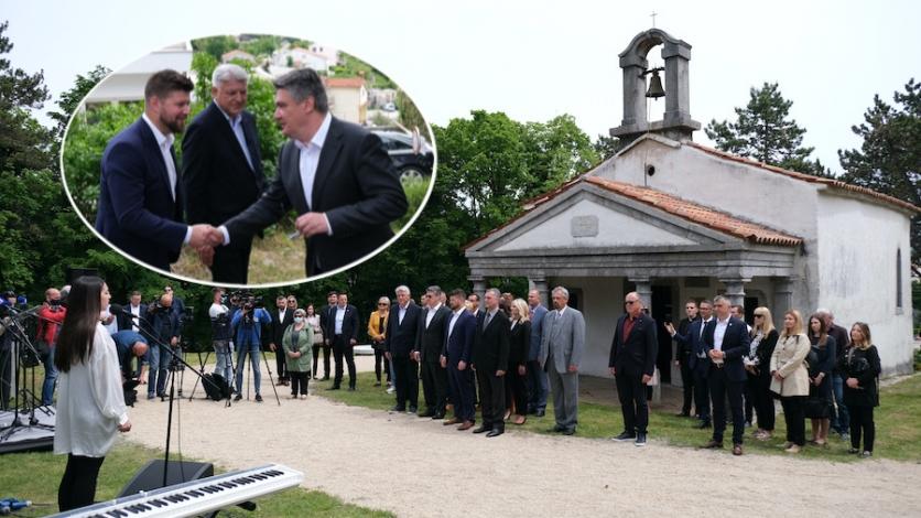 Predsjednik RH uveličao svečanost na brijegu sv. Mihovil
