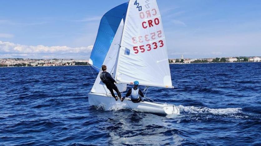 Galebaši Fike i Scheidl prvaci Hrvatske u klasi 420