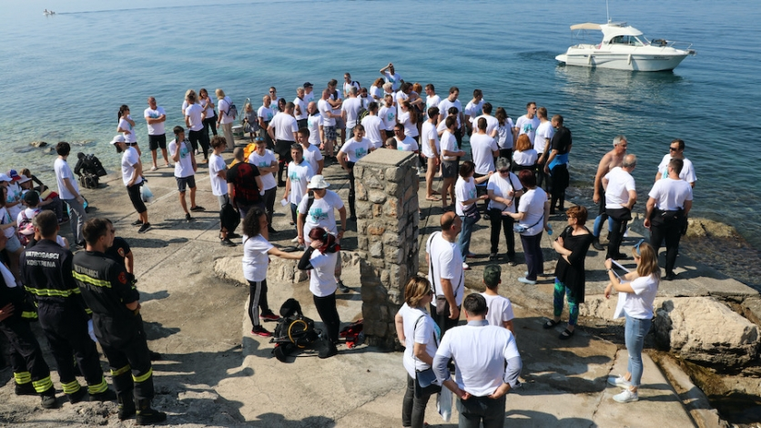 Kostrenjani u hvalevrijednoj akciji čistili more i podmorje