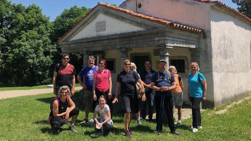 Dvadesetak šetača uživalo u Kastavštini uoči Dana Grada