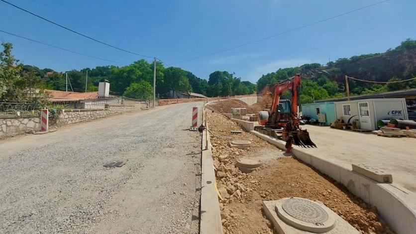 Obavijest o zatvaranju ceste za Žurkovo
