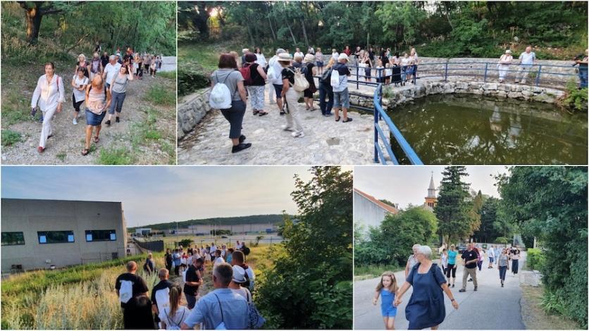 Tridesetak šetača upoznavalo Kukuljanovo