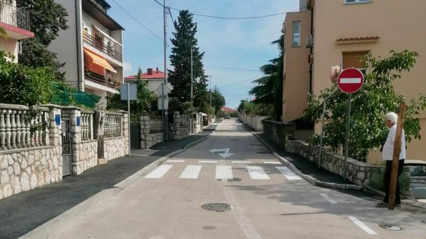 Novi režim prometa u naselju Vrh Martinšćice u Kostreni