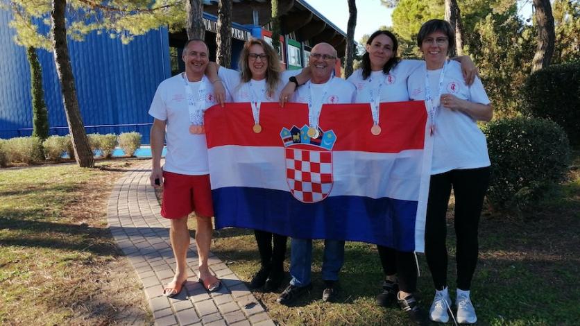 Sjajan nastup hrvatskog tima na EP u plivanju s perajama