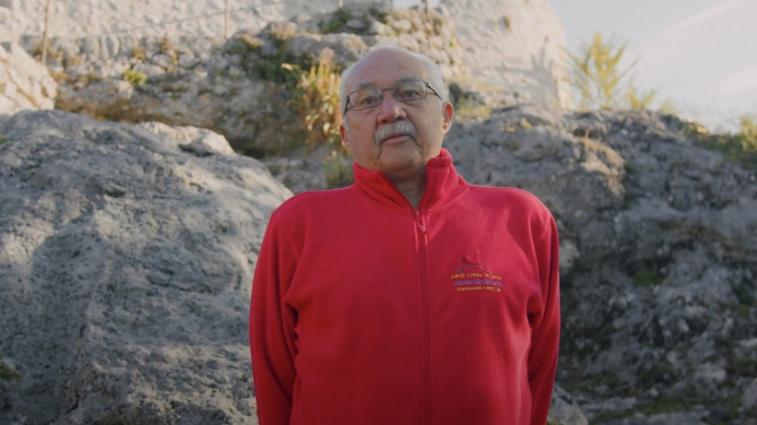 Planinar Matija Perić je Kastavac rujna 2021.
