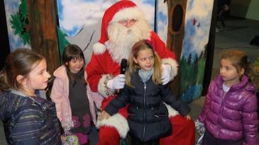 Djed Božićnjak na Kastvu