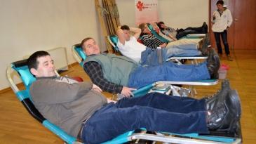 Prva ovogodišnja akcija darivanja krvi
