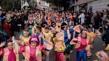 Rekordan broj djece na 23. Dječjem karnevalskom korzu