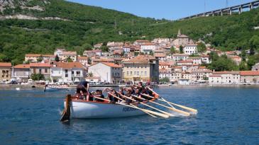 """Bakarski """"praznik"""" veslanja okupio 250 sudionika"""