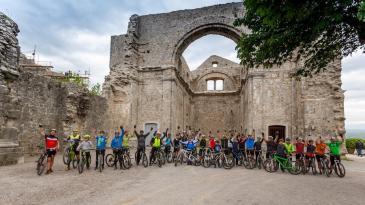 Biciklisti uživali u ljepotama Kastva i njegovih šuma