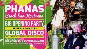 Phanas beach bar velikim partyjem otvara sezonu