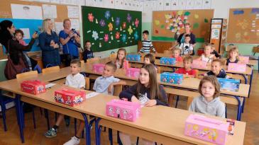 Sve više prvašića u kraljevičkim školskim klupama